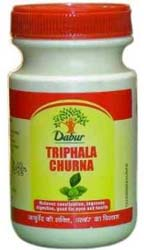 Dabur Triphala powder (Chebulic Myrobalan) – herbal colon cleanser