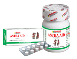 Bakson's Homeopathic Astha Aid Tablets  For Treatment Of Cough