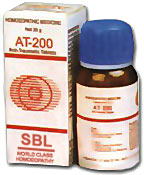 SBL Homeopathy AT 200 Tablets