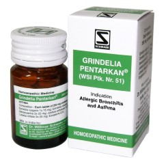 Dr. Willmar Schwabe Homeopathic Grindelia Pentarkan – Treatment For Bronchial Asthma