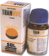 SBL Homeopathic Tranquil Tablets – Anxiety, stress and depression treatment