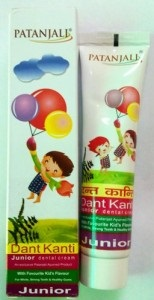 Patanjali Dant Kanti Junior Dental Cream – Best Baby Tooth Paste