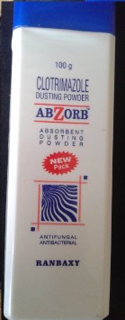 Abzorb Powder Clotrimazole For Different Skin Rashes & Irritated Skin