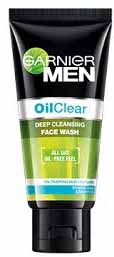Garnier Men Oil Clear Deep Cleansing Face Wash For Tough Skin