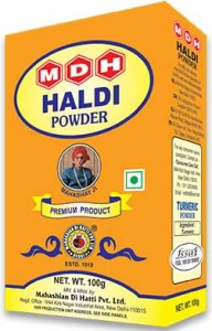 MDH HALDI POWDER – Turmeric Powder 100gm