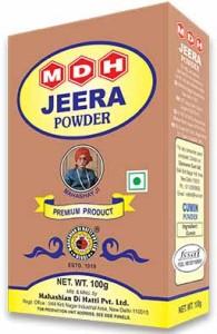 MDH Jeera Powder – Cumin Spice 100gm