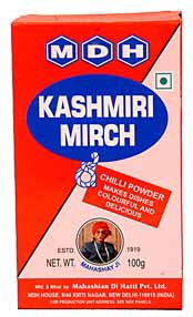 MDH Kashmiri Mirch Powder – Red Chilli Powder 100gm