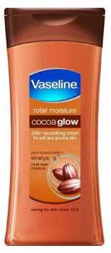 Vaseline Total Moisture Cocoa Glow A Natural Body Lotion