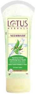 Lotus Herbals NEEMWASH Neem and Clove
