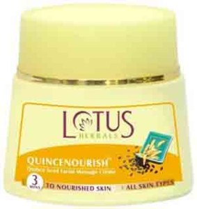 Lotus Herbals QUINCENOURISH Massage Crème