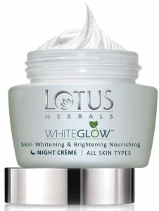 Lotus Herbals White Glow Skin Whitening and Brightening Nourishing Night Creme