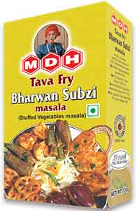 MDH Tava Fry Bharwan Sabzi Masala – Spices Blend For Fried, Stuffed Vegetables