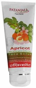 Patanjali Apricot Face Scrub – Natural Face Scrub, Natural Beauty Makeup & Remove Dead Skin From Face Naturally