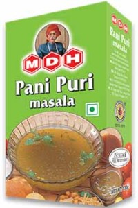 Mdh Panipuri Masala Spices Blend For Fried Savouries