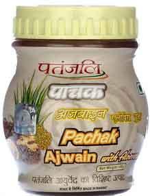 Patanjali pachak ajwain carom with aloevera