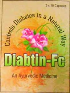 Dawn Pharma Diabtin-FC – Diabetes Supplement