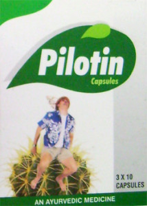 Pilotin Capsules – Natural Remedies For Piles Hemorrhoids Treatment