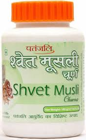 Patanjali Safed Musli Powder – Herbal Energy Boosters & General Debility