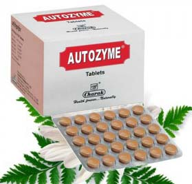 Charak Autozyme Tablet For Dyspepsia, Indigestion And Stomach Discomfort  Treatment