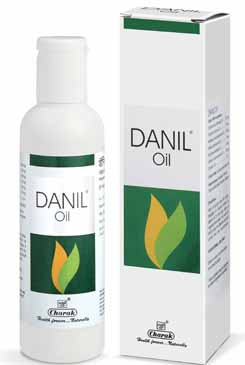 Charak Danil Oil – Dandruff Natural Treatment, Flaky Scalp Treatment, Itching Scalp