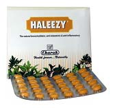 Charak Haleezy Tablets For Rapid Breathing, Shortness Of Breath And Difficulty Breathing