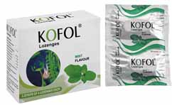 Charak Lofol Lozenges For Sore Throat Hoarseness And Huskiness Treatment