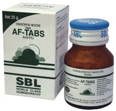SBL AF-Tabs Tablets For Influenza, Flu And Cold