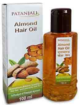 Patanjali Almond Kesh Tail – Stop Hair Fall Naturally & Get Smooth Hair