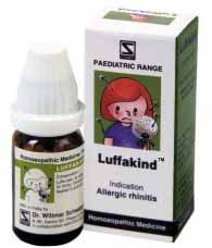 Dr. Willmar Schwabe Homeopathic LUFFAKIND – TREATMENT FOR ALLERGIC RHINITIS IN CHILDREN