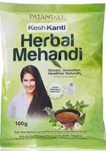 Patanjali Herbal Mehendi (Heena) – Herbal Hair Color