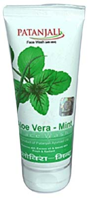 Patanjali Aloe Vera Mint Face Wash