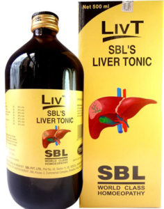SBL LIV-T For Liver Disorders And Lack Of Appetite In Children