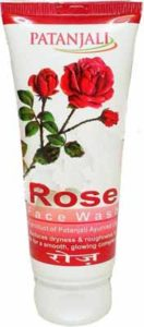 Patanjali Rose Face Wash For Pimples, Aging, Wrinkles, Fine Lines & Dry Skin
