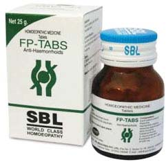 SBL Homeopathy FP-Tablets – Homeopathic Remedies For Piles & Hemorrhoids, Alternative Medicines For Piles