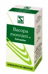 Dr Willmar's Schwabe Bacopa Monnieri 1x Tablets