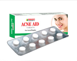 Bakson Acne Aid Cream And Tablets For Acne And Pimples Treatment