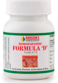 Bakson Homoeopathic Formula 'D' Tablets
